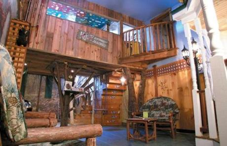 Kids Bedroom Tree House photos: family winter getaways (photo 8 of 19) - pictures - the